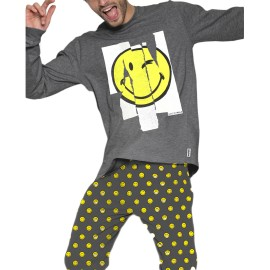 PIJAMA SMILEY NIÑO