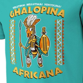 CAMISETA NIKIS GHALOPINA AFRICANA