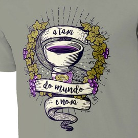 CAMISETA NIKIS A TASA DO MUNDO