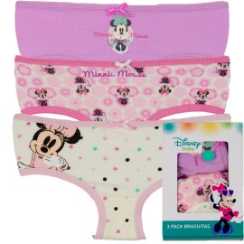 BRAGA MINNIE PACK/3
