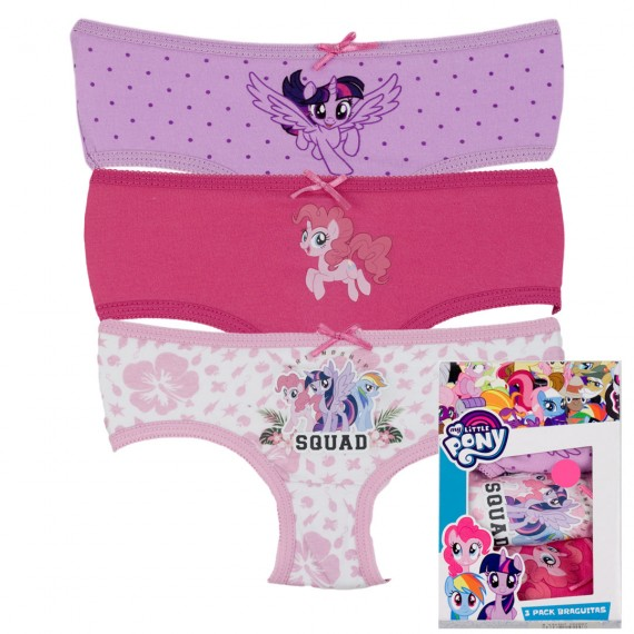 BRAGA MY LITTLE PONY PACK 3