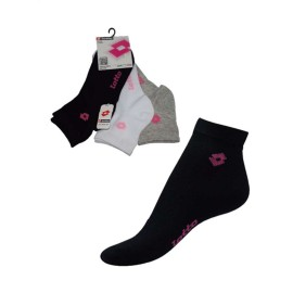 CALCETIN DEPORTIVO LOTTO MUJER PACK 3