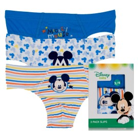 SLIP NIÑO MICKEY PACK/3