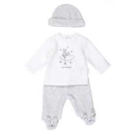CONJUNTO BABY-BOL BEBE 3 PIEZAS