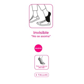 CALCETIN INVISIBLE CON SILICONA
