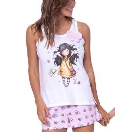 Pijama Gorjuss Santoro mujer mariposas