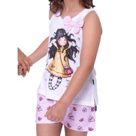 Pijama Santoro Gorjuss niña mariposas