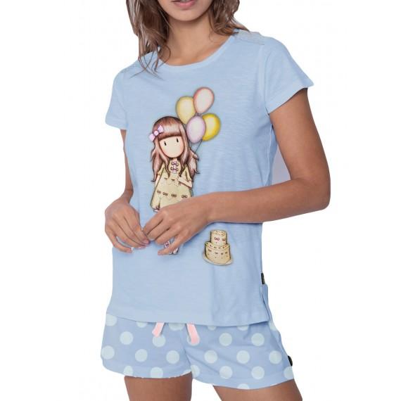 Pijama Santoro Gorjuss mujer cumpleaños