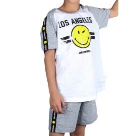 Pijama Smiley niño corto los angeles