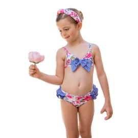 Bikini flores Dolce Petit niña.