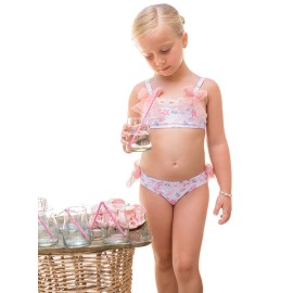 Bikini niña Dolce Petit caracolas
