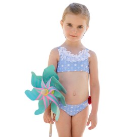 Bikini Dolce Petit niña anclas y estrellas