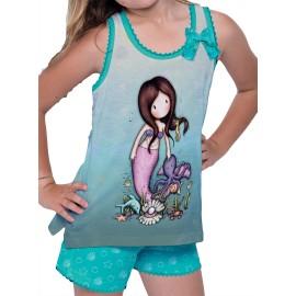 Pijama Gorguss sirena Santoro niña