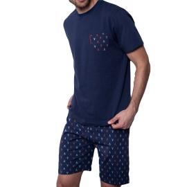 Pijama Antonio Miró hombre corto