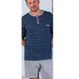 Pijama Kler clásico hombre corto