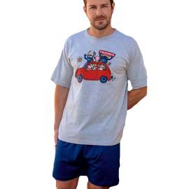 Pijama Kukuxumusu hombre coche toro