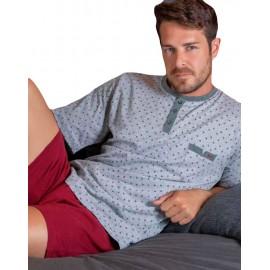 Pijama Kler hombre corto verano clásico