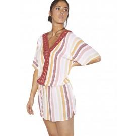 Vestido escote V Ysabel Mora