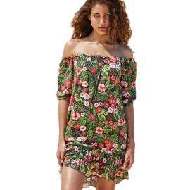 Vestido escote regulable Ysabel Mora