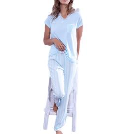 Pijama Admas clásico para mujer