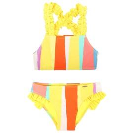 Bikini niña MRMSS rayas