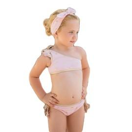 Bikini niña Dolce Petit estrellas doradas