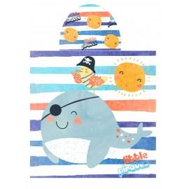 "Poncho playa niños ""Little Pirates"""