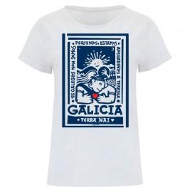 Camiseta Rei Zentolo Mujer Terra Nai