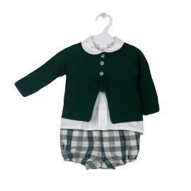 Conjunto para bebé de Baby Ferr con chaqueta