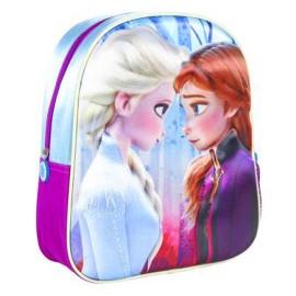 Mochila colegio Frozen 3D