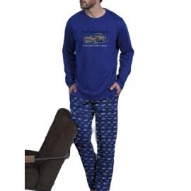 Pijama hombre Antonio Miró bolsillos