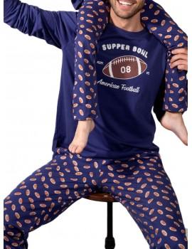 Pijama Supper Bowl Admas chico