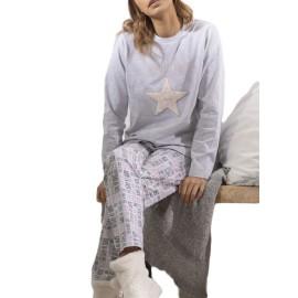 Pijama estrella mujer Admas