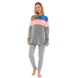 Pijama Muydemi Mujer Algodón
