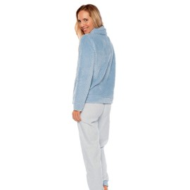 Pijama Coralina Muydemi Mujer Capucha