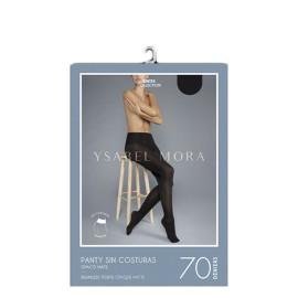 Media  Panty Ysabel Mora Mujer  70DEN Sin Costuras
