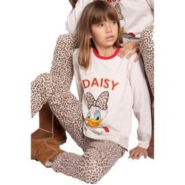 Pijama Daisy Niña Disney Algodón