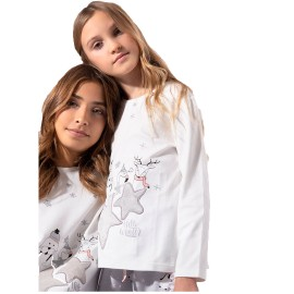 Pijama Admas Niña Estrellas Invierno