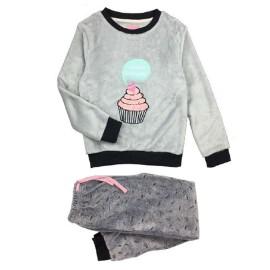 Pijama calentito niña Olympus