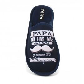 """Zapatilla Javer """" Papá no hay más que uno"""""""