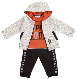Chandal Baby-Bol Niño 3 Piezas