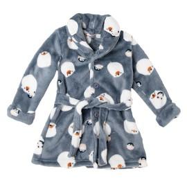 Bata Bebé Coralina Baby-Bol Pingüinos