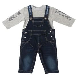 Conjunto Bebé Baby-Bol 2 Piezas Peto Vaquero