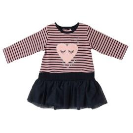 Vestido Niña Baby-Bol Corazón Tul