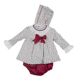Vestido Baby Ferr con braga y capota
