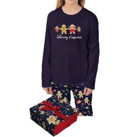 Pijama Niña Admas Navidad Galleta Jenjibre