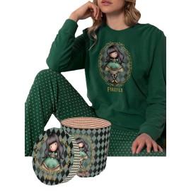 Pijama Mujer Santoro Gorjuss Micropolar