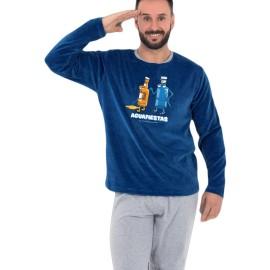 Pijama tundosado Kukuxumusu Hombre Aguafiestas