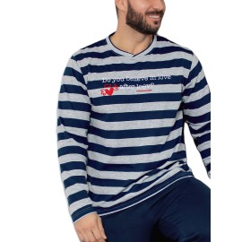 Pijama Juvenil Kler Hombre Corazón