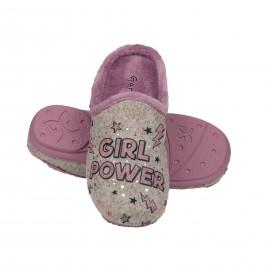 """Zapatilla Garzón mujer """"Girl Power"""""""